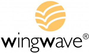 Emblema wingwave para sitio web